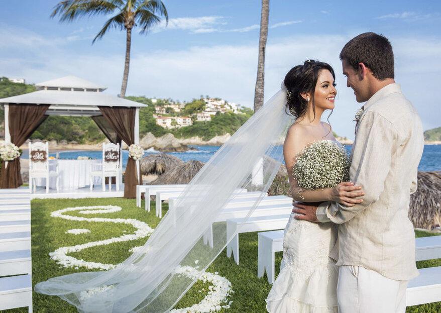 6 errores comunes al organizar una boda en la playa