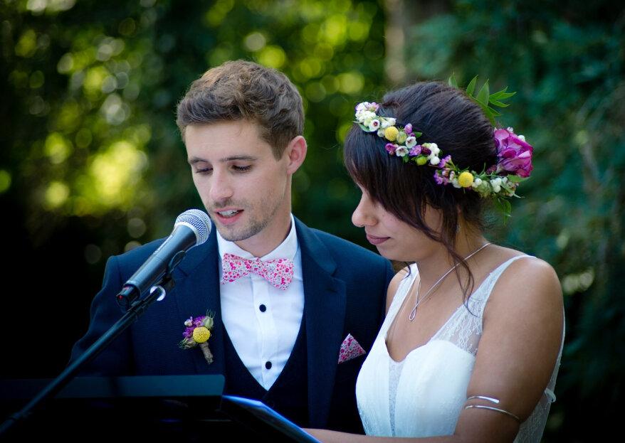 Discours des mariés : comment faire un discours de mariage réussi