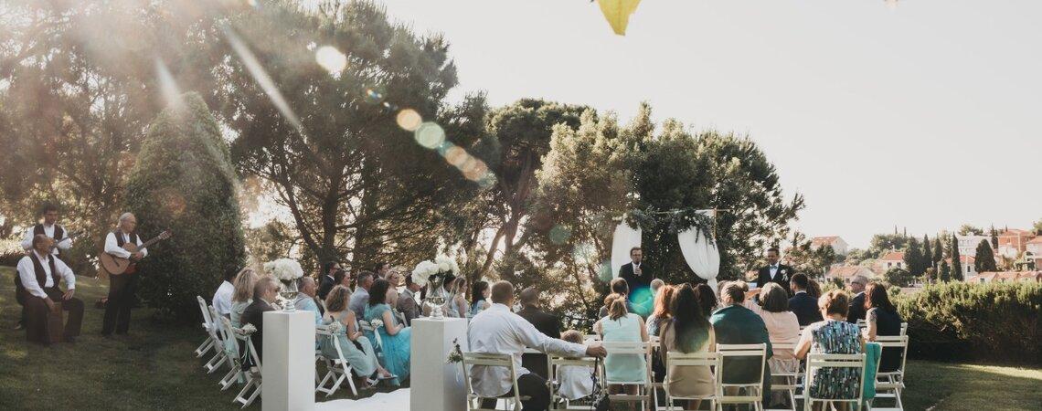 Die traumhafte Destination Wedding von Kristina und Christoph in Kroatien – Gute Planung ist das A und O!