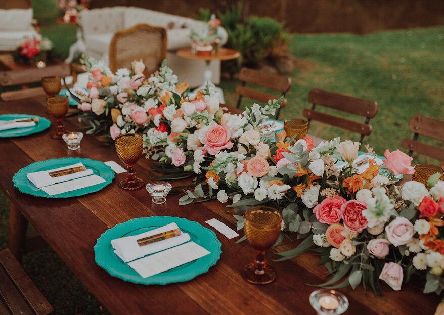 Acerte na decoração floral e no buquê do seu casamento com as dicas de Luana Sanfer, à frente da Estrelitzia Design Floral!