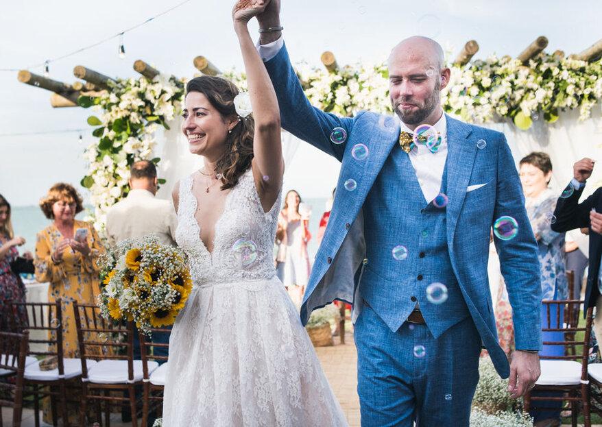 Transforme seus sonhos em realidade contando com os superpoderes destes wedding planners
