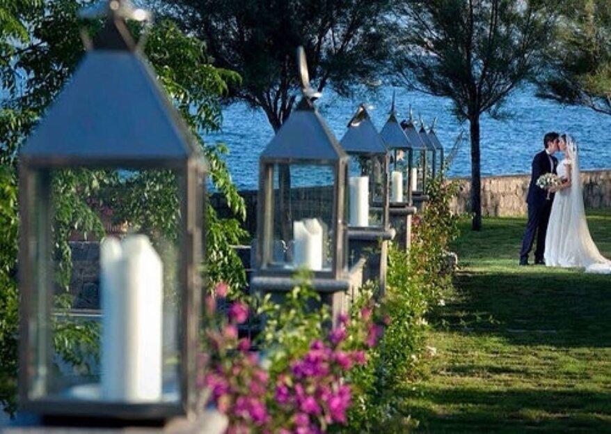 Villa Guarracino: una location d'epoca a ridosso del mare del golfo di Napoli