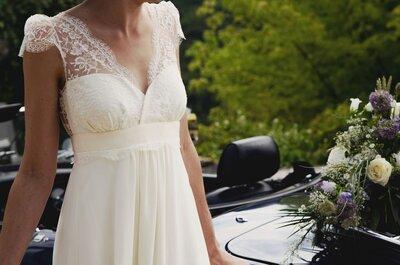 ¿Cómo elijo mi vestido de novia si estoy embarazada?