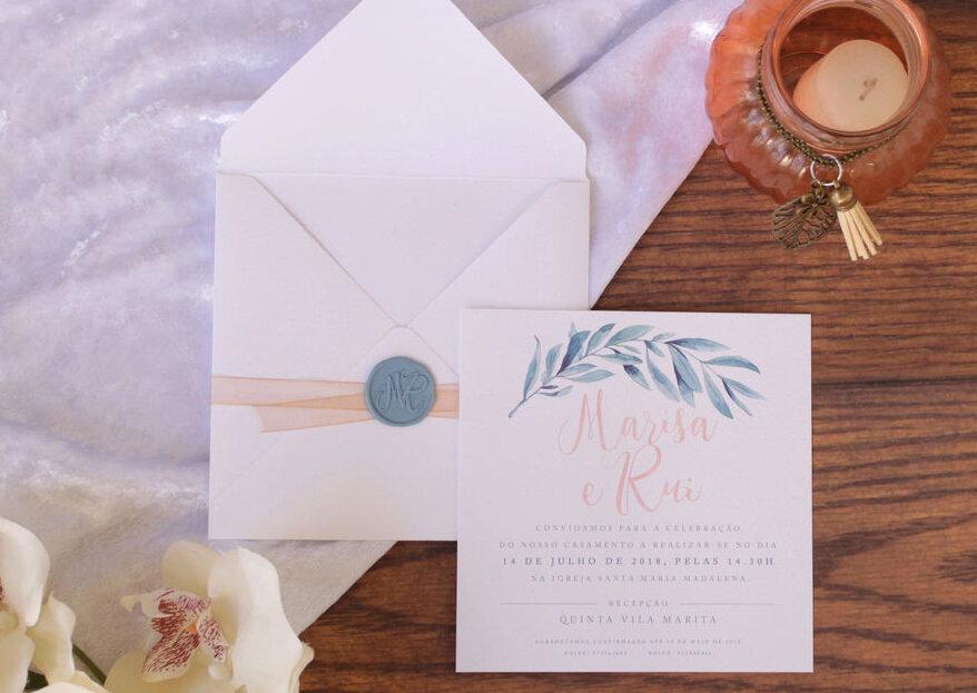 Carimbos de lacre: o último detalhe para selar os convites