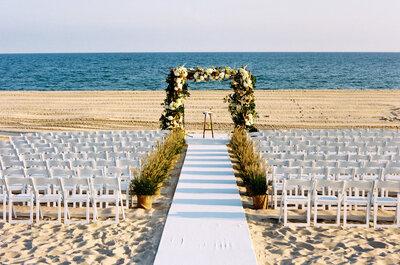6 errores comunes al organizar una boda en la playa: ¡Toma nota de todos!