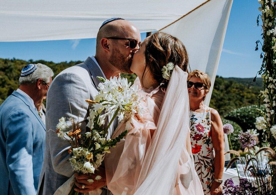 Emma & David: um destination wedding animado pelo sol do Algarve e a alegria dos noivos