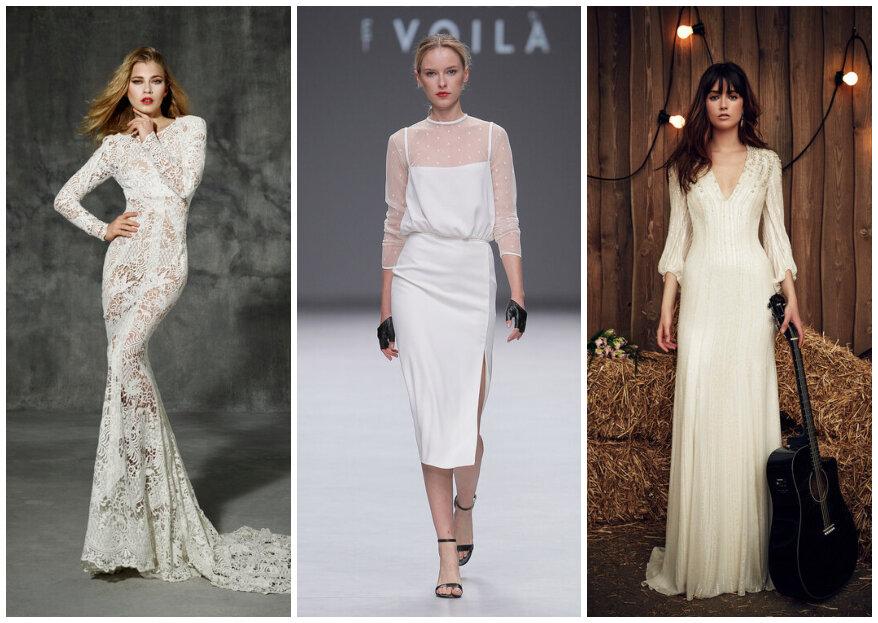 40 modelos LINDOS de vestido para casamento civil!