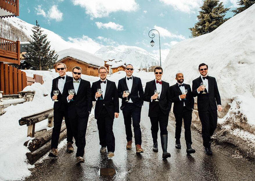 Organiser son mariage à la montagne, une idée originale et tendance orchestrée par Les Photophores