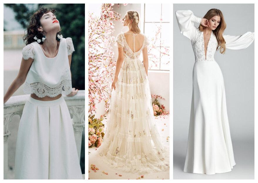 10 tendências em vestidos de noiva 2020 que você não pode perder!