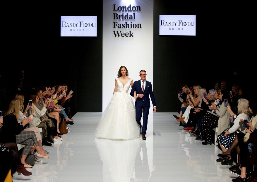 Discover The Top Looks From London Bridal Fashion Week 2019
