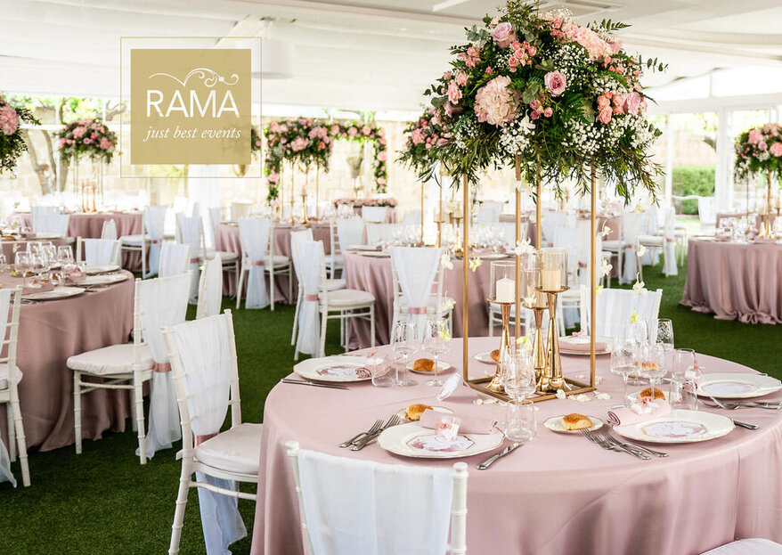 Rama Eventi: The Most Exclusive, Elegant and Creative Catering & Banqueting Service for Your Wedding!