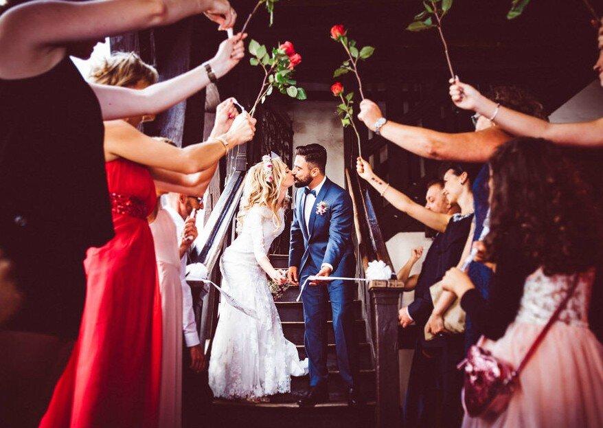 24 kreative Ideen für eine einzigartige Hochzeitsfeier. So wird sie unvergesslich!