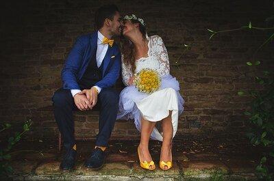 Decora il tuo matrimonio con il giallo primula: uno dei colori TOP del 2017