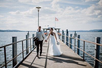 Die romantisch-rustikale Hochzeit von Janina & Basil in einer alten Scheune