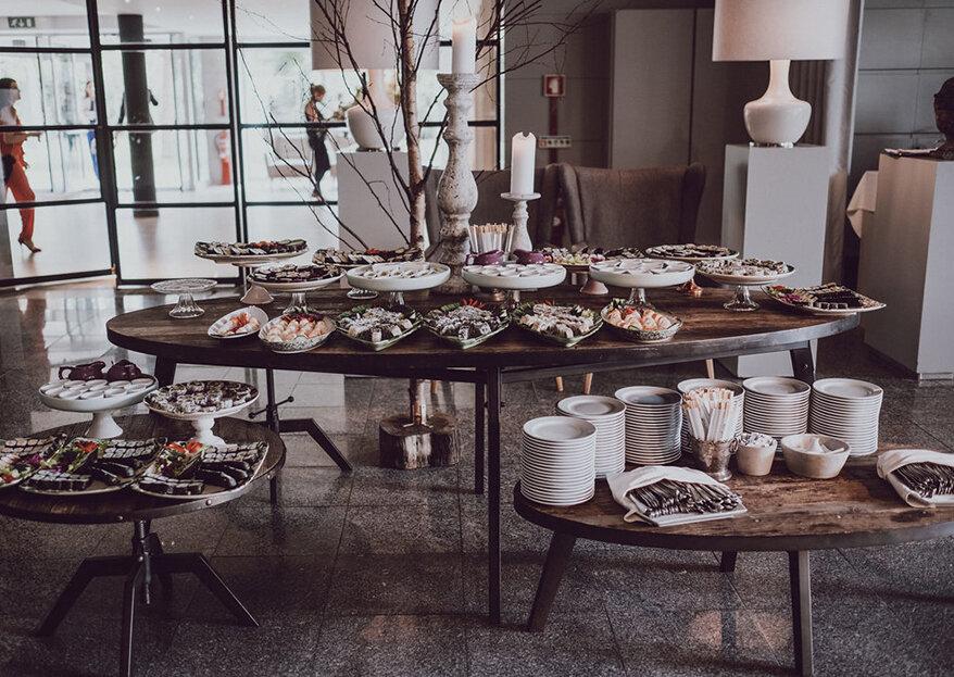 Menus de casamento alternativos: deliciem-se vegetarianos, diabéticos e celíacos