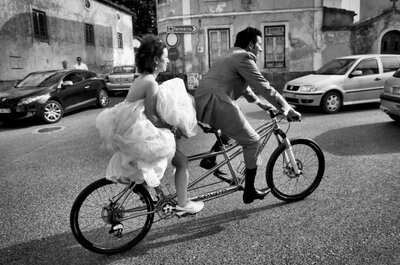 The coolest of cool... a hipster wedding