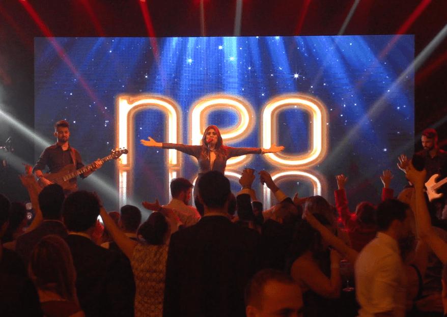 Banda Neo: alegria, alto astral e interação para fazer sua pista bombar do início ao fim da festa