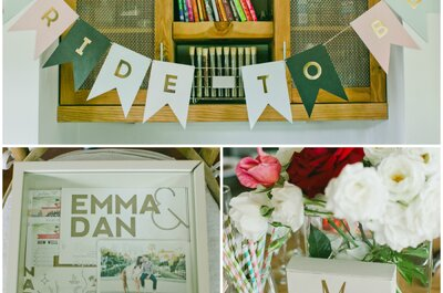 All in a Golden Afternoon: Emma + Dan´s Real Wedding California