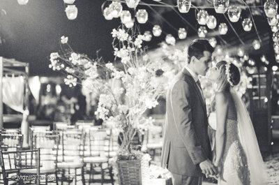 Lize e Alexandre: casamento autêntico, decoração linda e com toques modernos