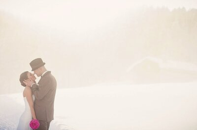Winter-Hochzeit mit Charme: Susanne und Niko sagten JA in den Bündner Bergen