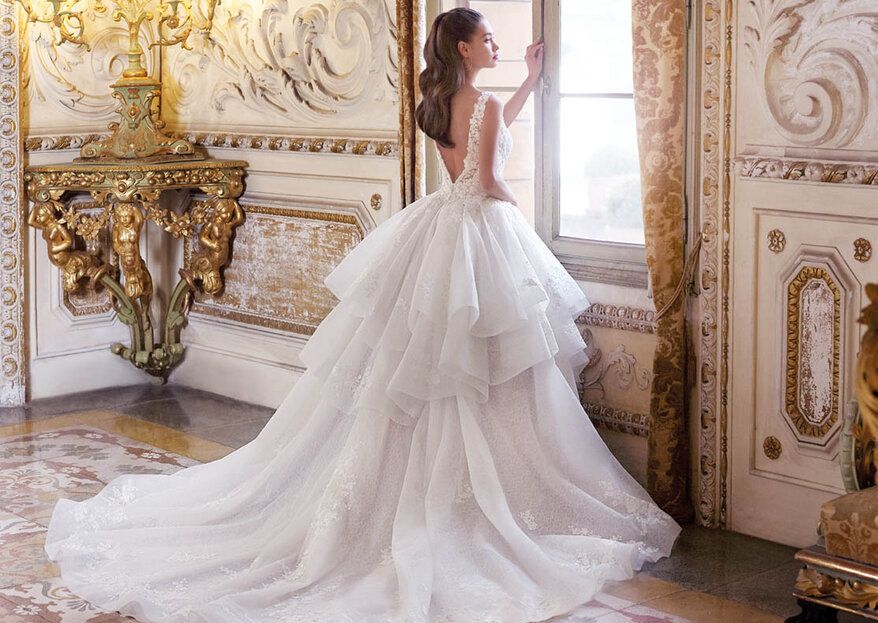 Choose Demetrios For the Luxurious Wedding Dress of Your Dreams!