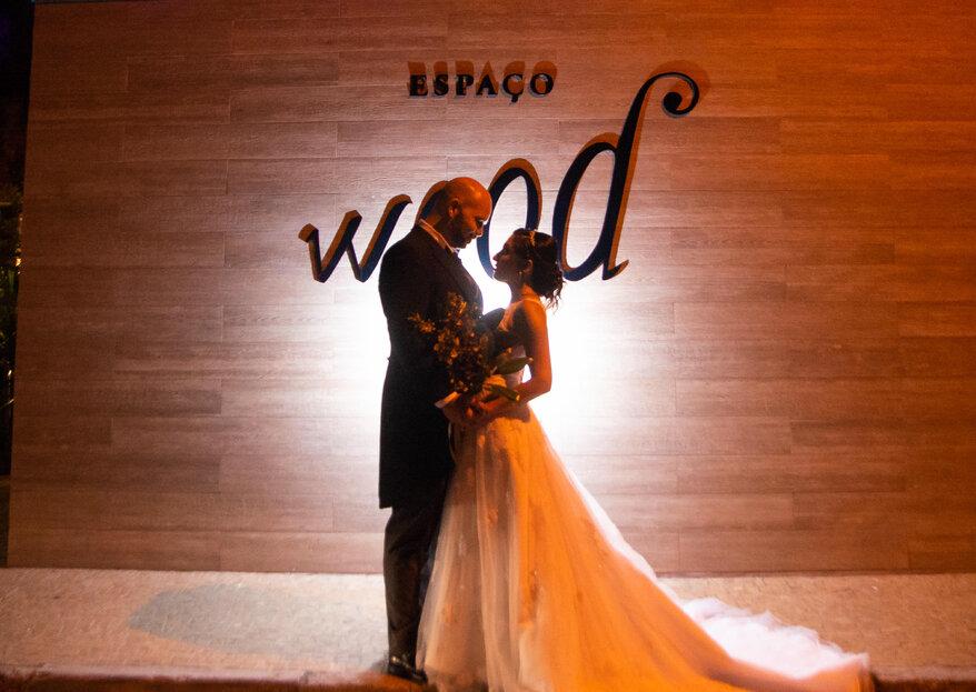 Espaço Wood: um lugar moderno que permite aos noivos imprimir suas personalidades em cada detalhe