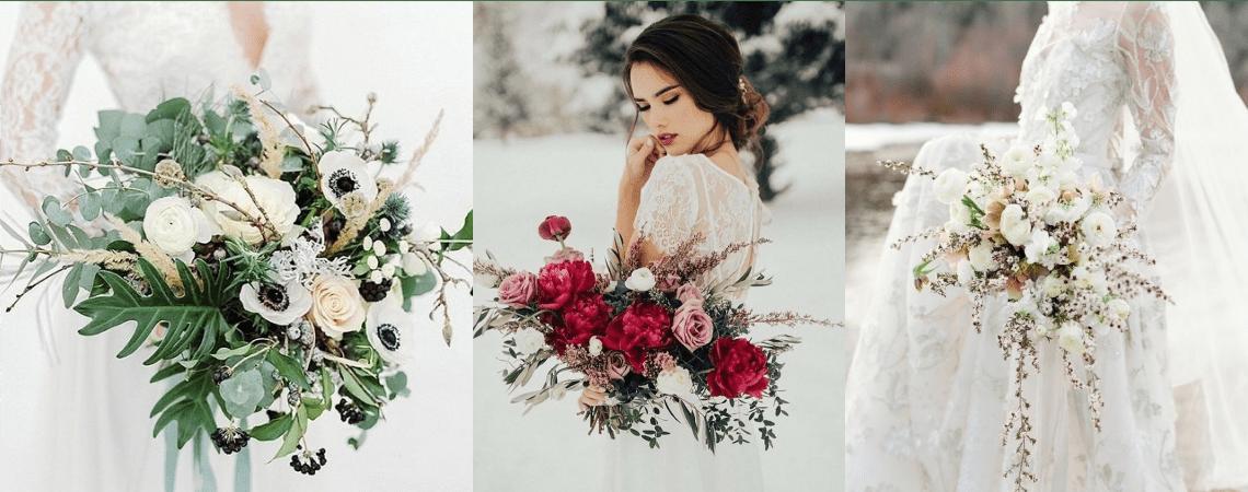Зимние букеты невесты: советы от профессионалов!