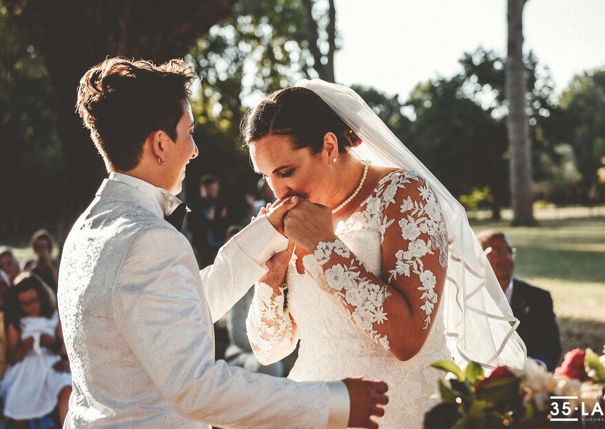 Antonella Russo wedding and event planner vi farà vivere la vostra favola, parola di Linda e Michela!
