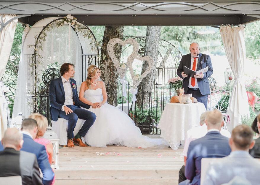 Hochzeitszeremonien mit Stil – Jan Euskirchen ist am grossen Tag für Sie da