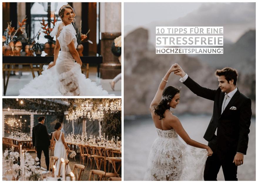 10 Tipps für eine stressfreie Hochzeitsplanung!