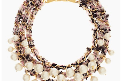 Statement Necklaces para novia, la mejor declaración de moda en tu look 2014