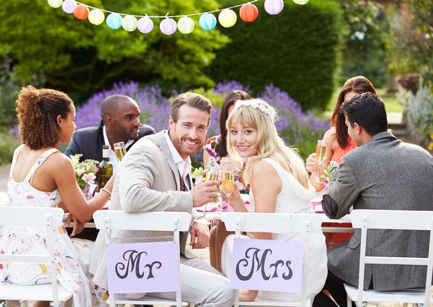 3 coole Ideen, die Ihr Hochzeitsessen zu einem Erlebnis-Feuerwerk machen werden!