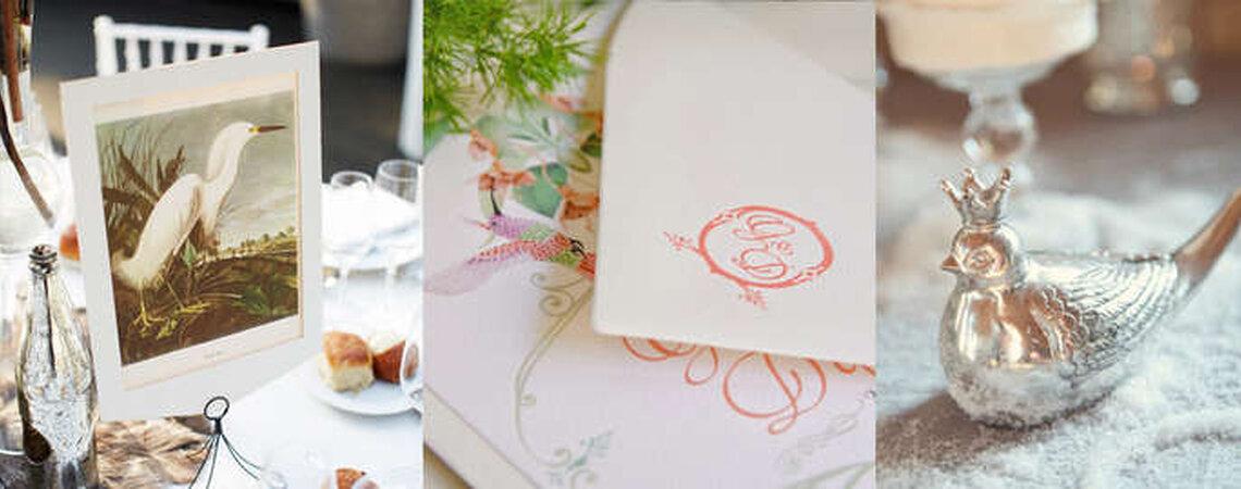 Pássaros, uma tendência em alta na decoração de casamentos. Inspire-se!