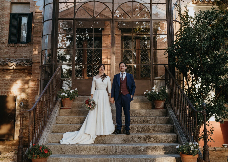 'Emoción máxima': la boda de Laura y Santos
