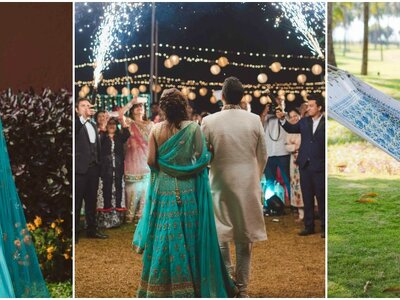 Amazing wedding of Mahak and Rahul- the one with the beach wedding
