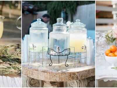 Najlepsze formy podania lemoniady na Twój ślub. Zaskocz swoich gości!