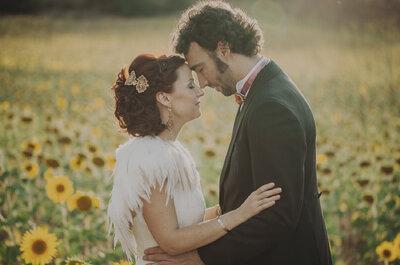 Una boda handmade cuidada al detalle: el gran día de Carmen y Alberto