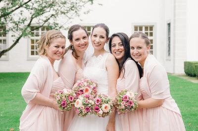 Kurz vor der Hochzeit verbringen Braut und Brautjungfern einen unvergesslichen JGA-Abend miteinander – Foto: Andrea Kuehnis Photography