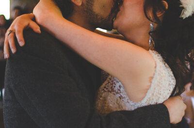 Maria Elisa y Diego, una boda que la lluvia hizo muy especial