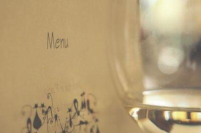 7 idee creative e originali per presentare il tuo menù di nozze