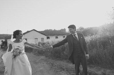 11 años mágicos y un día perfecto: la boda de Puri y Raúl