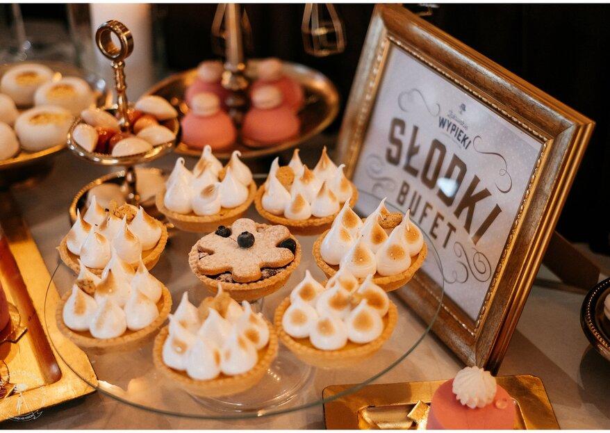 Klasyka cukiernicza czy odlotowy stół weselny? Jak zaskoczyć łasucha?