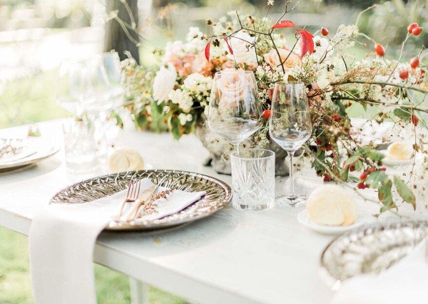 La creazione della moodboard dell'intero matrimonio insieme all'esperienza e alla creatività di Gionata Russo Weddings