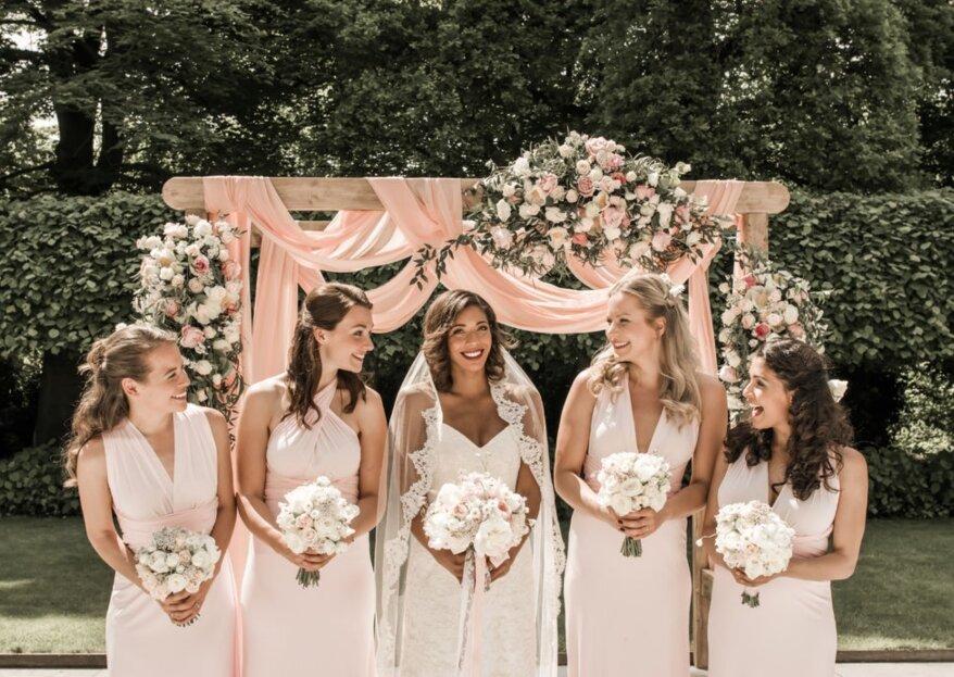Zo kies je de bloemen die passen bij jouw trouwjurk!