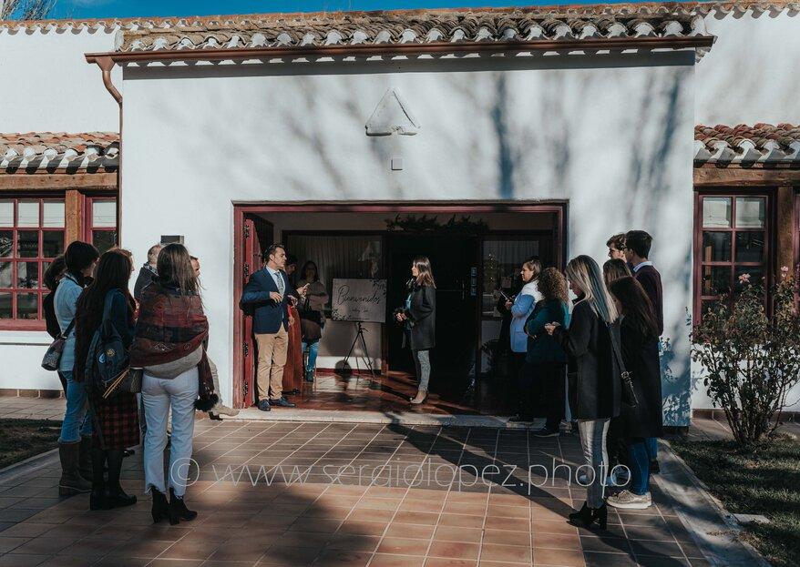 La magia de la navidad en el Wedding Club del Parador de Albacete