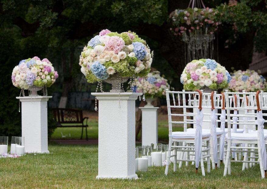 WeD Design: una professionista che vi seguirà step by step il giorno delle nozze