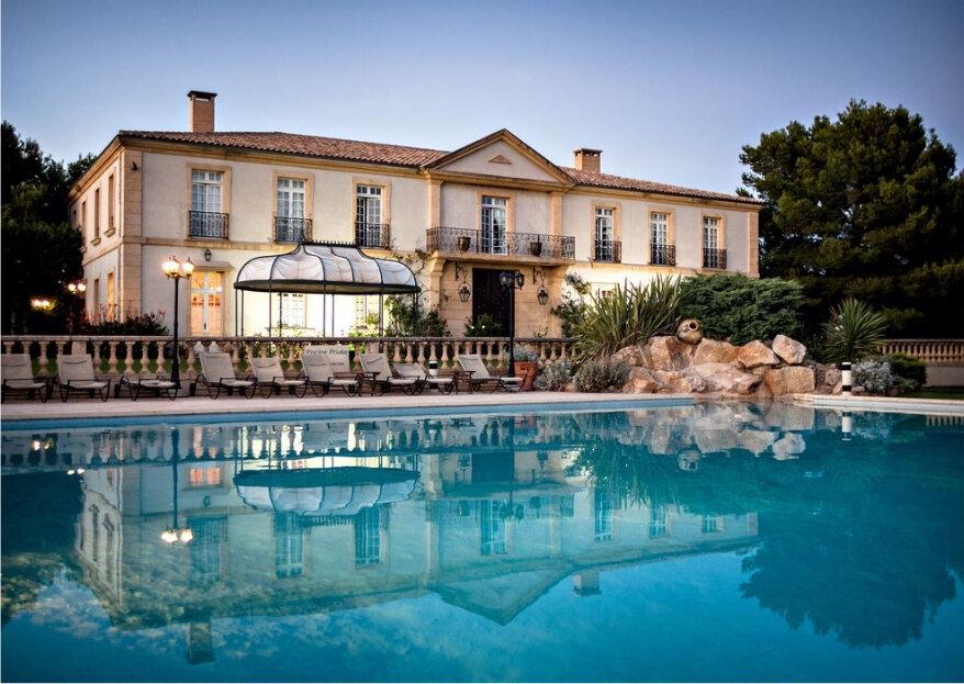 Les meilleurs lieux de réception dans le sud de la France pour un mariage exceptionnel !
