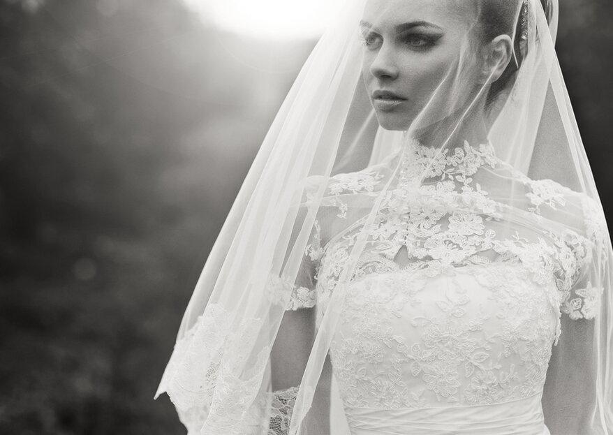 Cómo elegir el velo de novia en 4 sencillos pasos