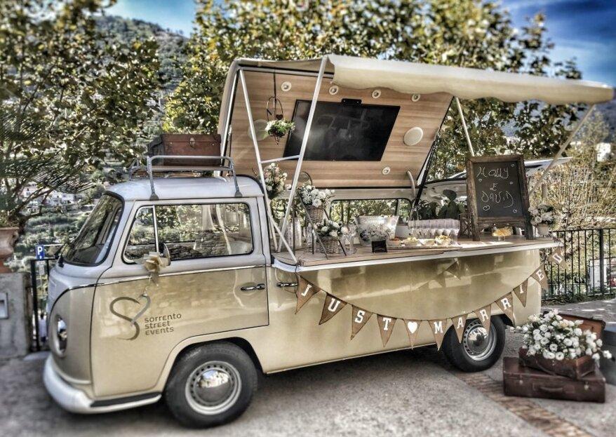 Sorrento Street Events: la combinazione perfetta di divertimento e degustazione a bordo di un Volskwagen