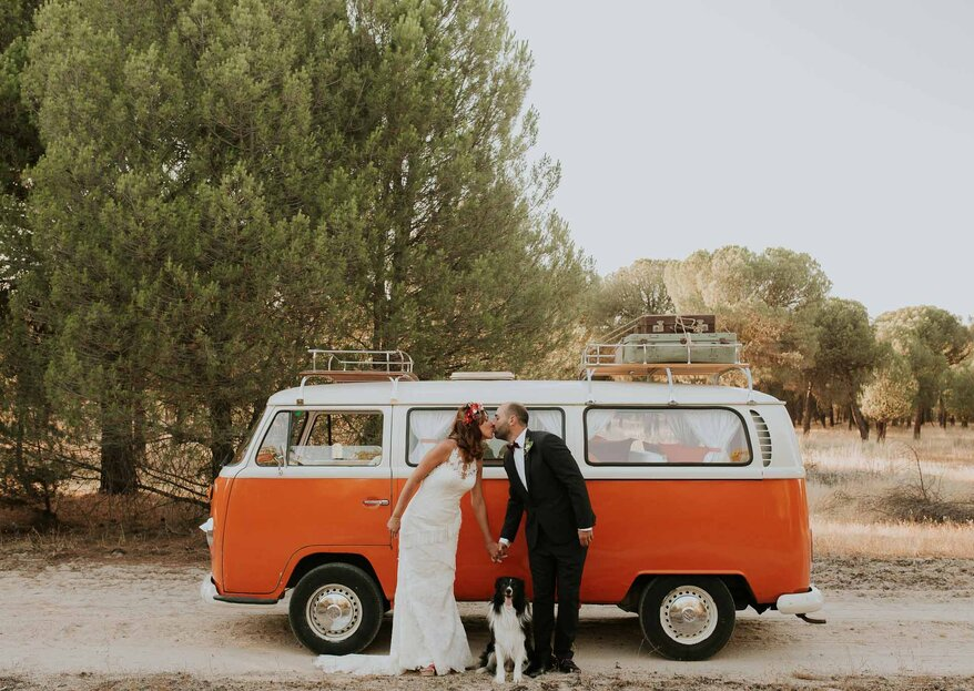 Cómo elegir el transporte para los invitados de la boda en 5 pasos